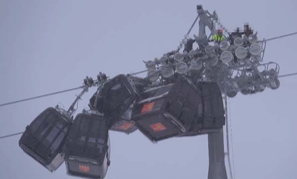 Hochzillertal Gondola Crash