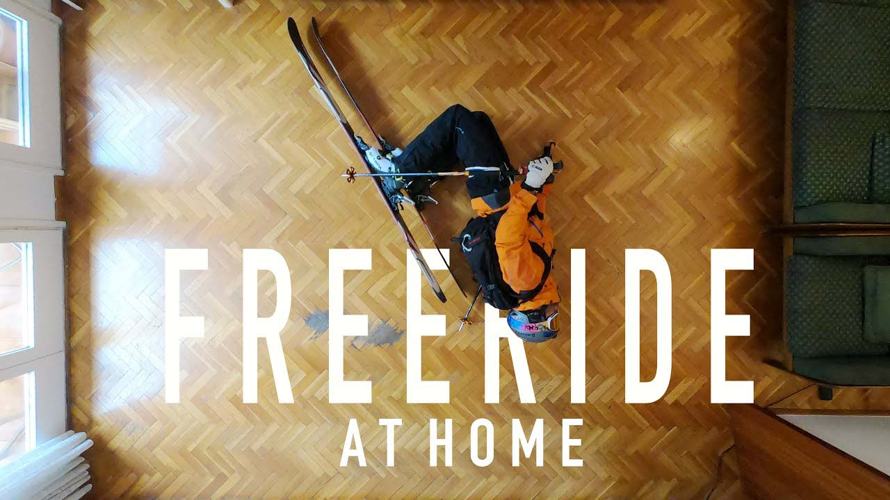 Freeride Skiing at Home