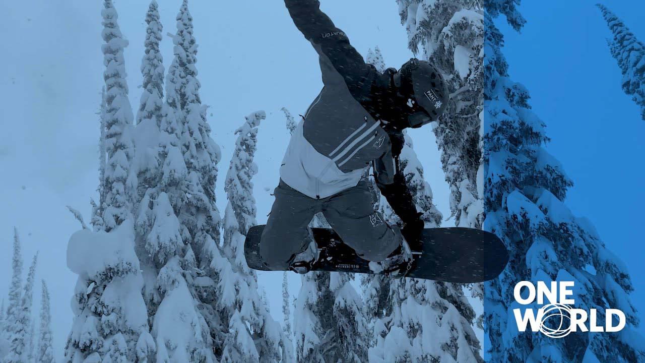 Terje Haakonsen Cat Track Snowboarding